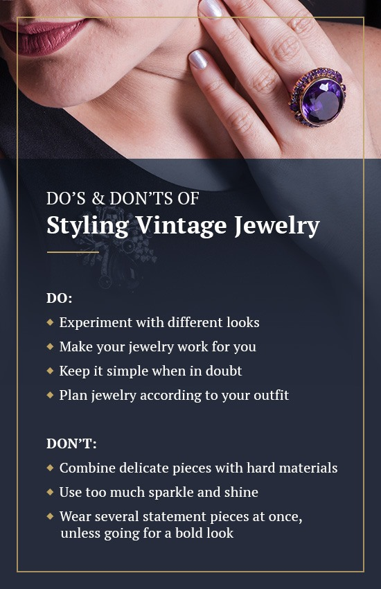 Ready to Style Vintage Jewelry