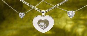 Chopard Diamond Heart l Dover Jewelry