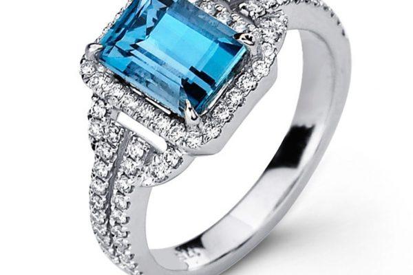 Auamarine-ring