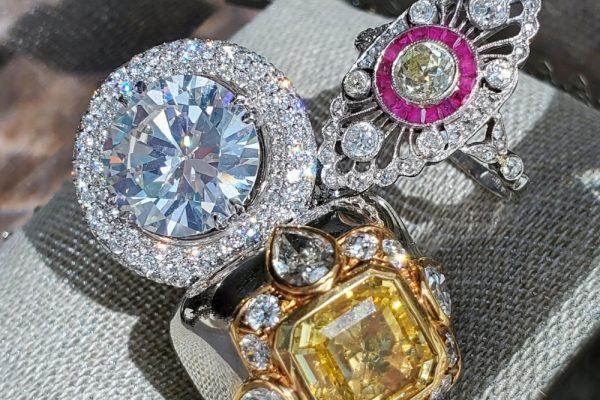 Diamond Rings l Dover Jewelry