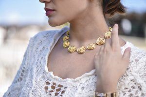 Designer VCA Gold Necklace l Dover Jewelry