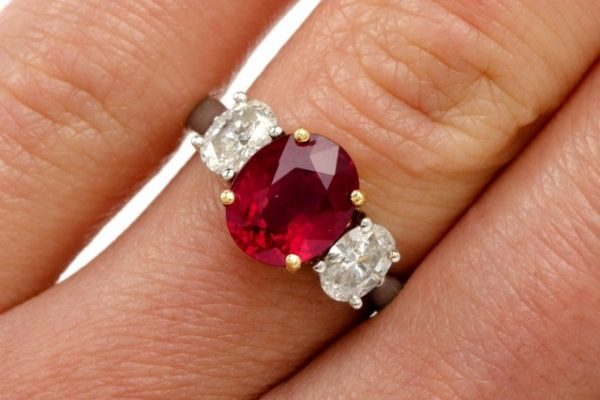 Ruby Engagement Rings