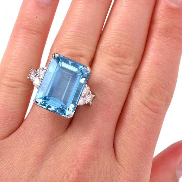 What Is The Symbolism Of Aquamarine As The March Birthstone