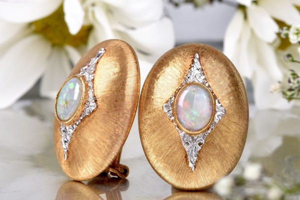 Buccellati Opal Earrings