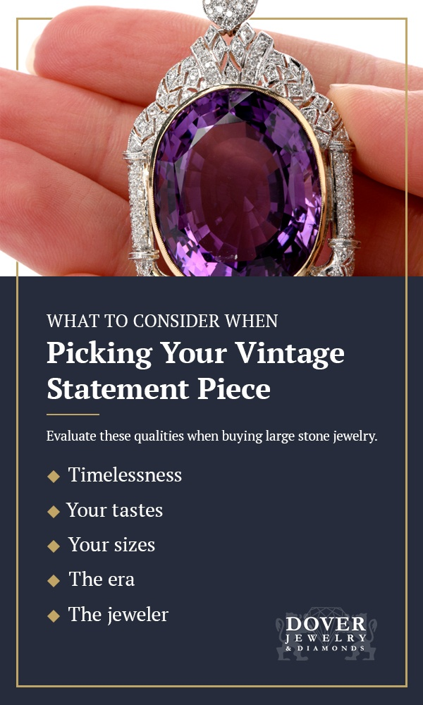 What-to-consider-when-picking-your-vintage-statement-piece-pinterest
