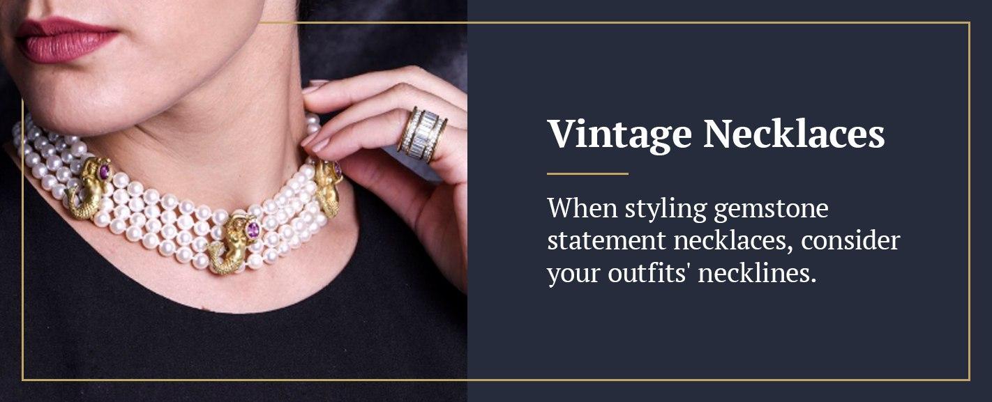 Vintage-necklaces