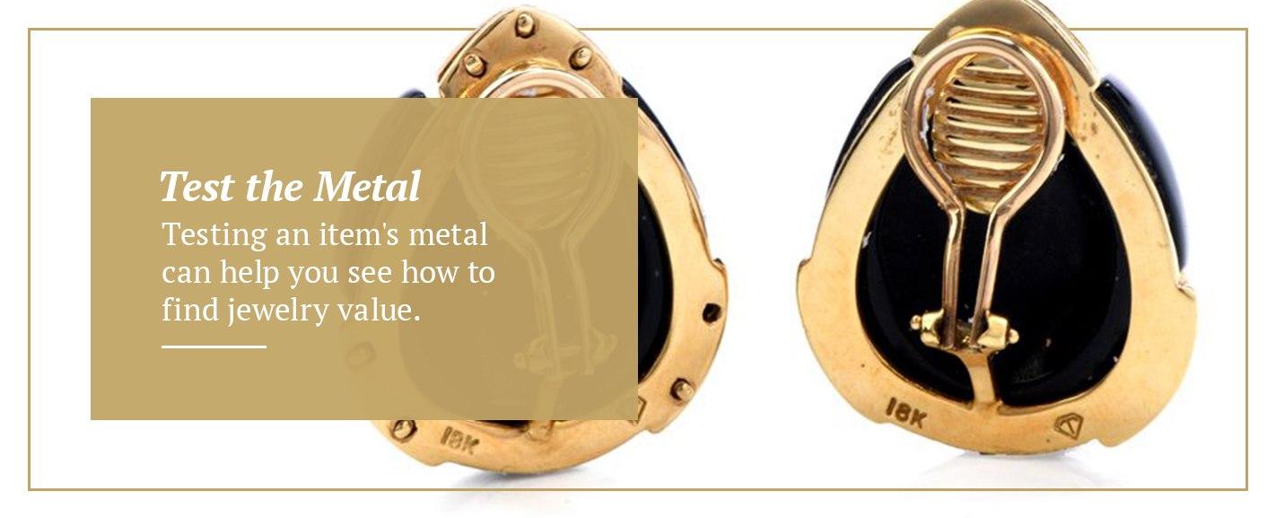 Testing jewelry metal