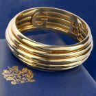 Piaget Possession 18K Yellow Gold Spinning Bangle Bracelet