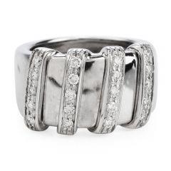 Roberto Coin Nabucco18k Gold  Diamond Ring