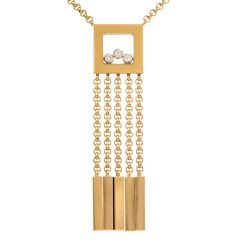 Chopard Happy Diamonds Chandelier 18K Necklace