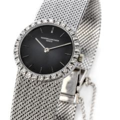Vacheron Constantin Vintage Diamond 18K White Gold Ladies Watch