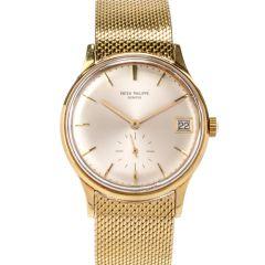 Patek Philippe  Ref. 2596 18K Unisex Mesh Bracelet Watch