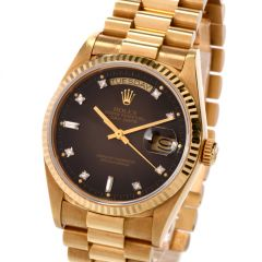 Preowned Gents Rolex Ref 1803 18K Day Date Watch