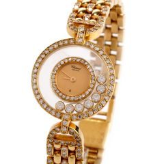 Chopard Happy Diamond 18K Gold  Ladies Watch refrence 4066