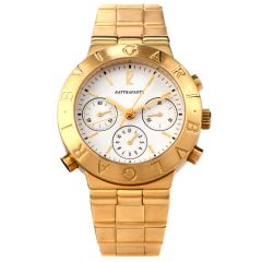 Bvlgari 18K Gold Rattrapante Ref CH40GL Men's Watch