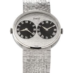piaget-612501-a6-vinatge-1970s-two-time-zone-18k-white-gold-watch