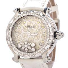 Chopard Happy Sport  Snowflake Diamond Pristine 38 mm Ladies Watch 8347