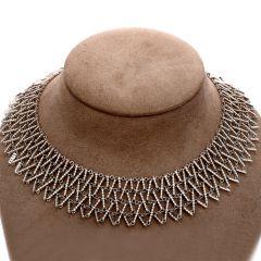 GARAVELLI Designer 7.40cts Diamond Gold Cleopatra Necklace