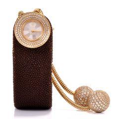 VAN CLEEF & ARPELS  Diamond Lady's VCA Watch