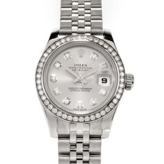 Lady Datejust 26 White Dial Stainless Steel Jubilee Bracelet Automatic Watch