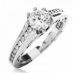 Tacori Diamond 18K Engagement Semi-mount Ring