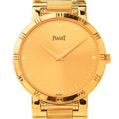 Preowned Piaget 18K Dancer 84023K81 Quartz Watch