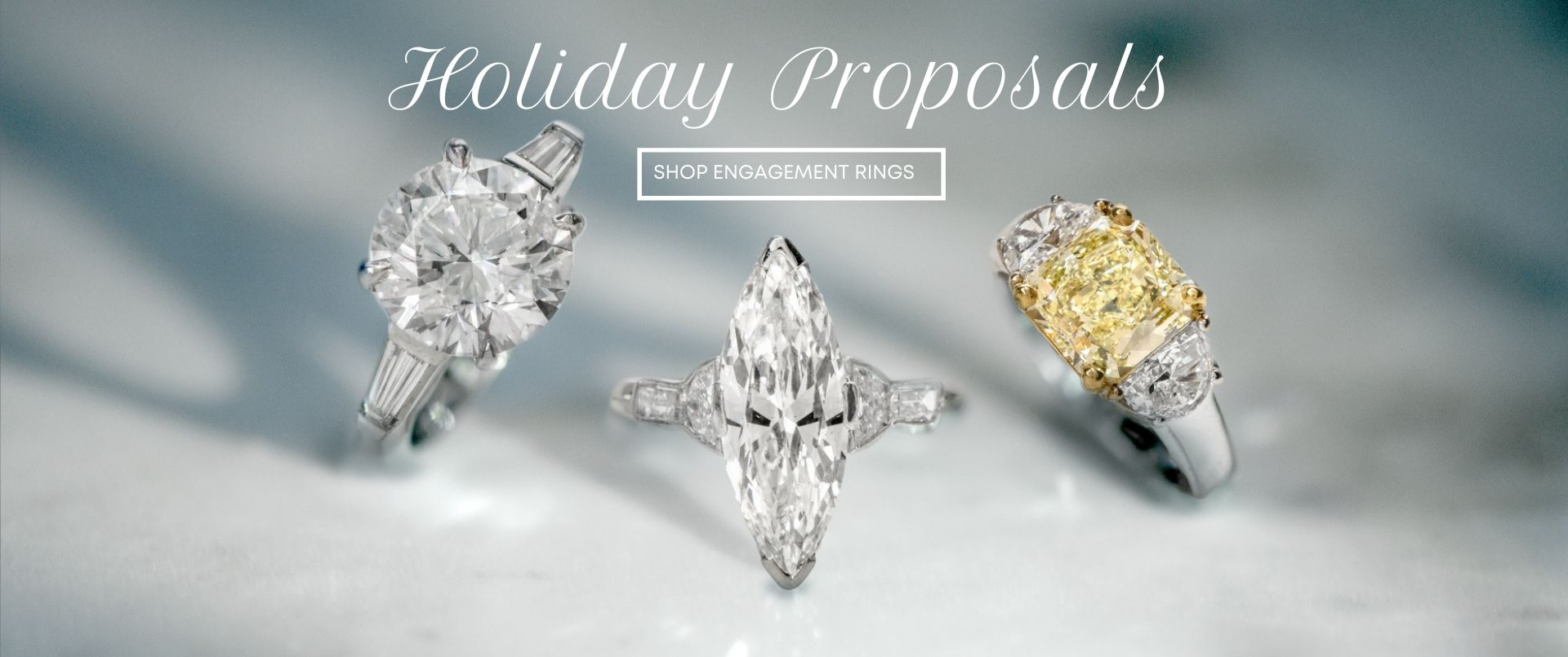 Holiday Proposals Shop for Diamond Engagement Rings