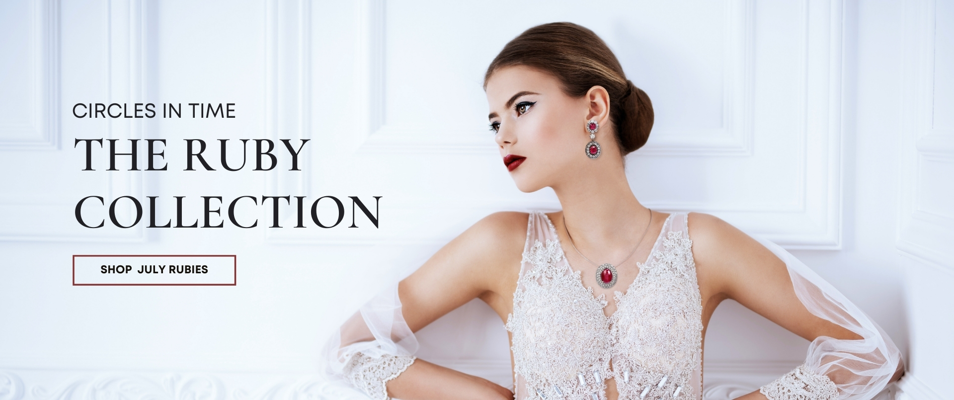 Circles Of Time Ruby Collection l Dover Jewelry Miami