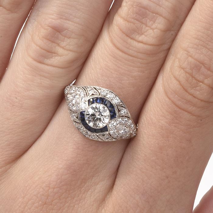 b468c09279e90 Antique Rings for Sale | Authentic Gemstone Antique Rings Online